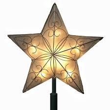 lighted christmas tree stars christmas lights decoration