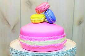 pastel de macaron gigante macaron cake baking day youtube