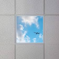 Decorative Ceiling Light Panels Led Skylight 2x2 Even Glow Led Panel Light W Skylens Jet