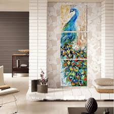 Wall Decor Canvas 40 Peacock Decor Ideas Art Accessories U0026 Furniture Photos