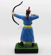 usd 12 69 mongolian archery handicrafts ornaments resin ornaments