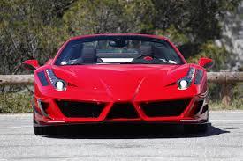 Ferrari 458 Spider - ferrari 458 spider monaco edition mansory 1 images ferrari 458