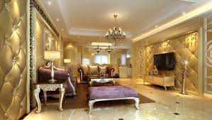 wonderful luxury living room design with antique furniture set and