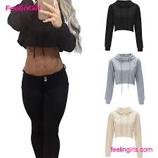 cropped top hoodie cropped top hoodie suppliers and manufacturers