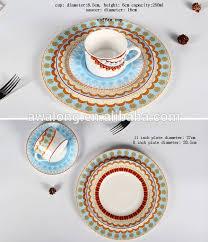 wholesale modern design dinnerware set english china dinnerware