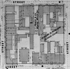 library of congress floor plan the collins c diboll vieux carré survey property info