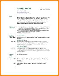 My First Resume Template How Do I Write A Resume For My First Job Sample First Job Resume
