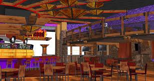 Steak House Interior Design Restaurant Interior Design Bar Design Rendering Concep U2026 Flickr