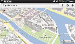 Notre Dame Stadium Map Photos London Paris And New York Get 3d Google Maps Treatment On