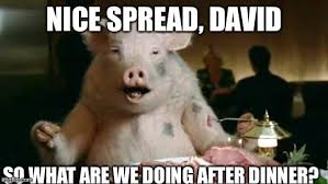 Ham Meme - pig eats ham memes imgflip