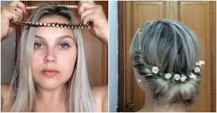 tuck in hairstyles headband hairstyles tuck hair