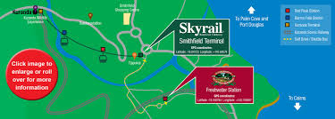 First Class Mail Time Map Skyrail Rainforest Cableway Cairns Self Drive Information And
