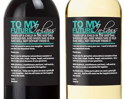 wedding gift from parents wedding gifts for parents wine labels wedding wine labels