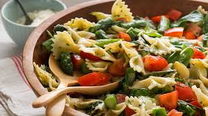 recipes for pasta salad backyard farms pasta salad with tomatoes spinach and asparagus