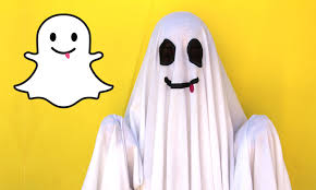diy easy halloween costume snapchat ghost lucykiins youtube