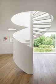 All White Home Interiors Stair Fetching Home Interior Stair Design And Decoration Using