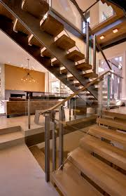 Free Standing Stairs Design Oak Stair Treads Staircase Contemporary With Beautiful Staircase