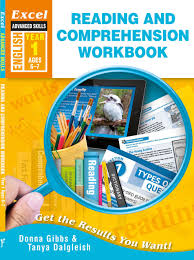excel reading and comprehension worksheets year 1 6 7 year olds