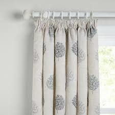 buy john lewis mini olive trees lined pencil pleat curtains duck