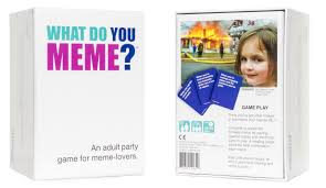 amazon com what do you meme party game toys u0026 games
