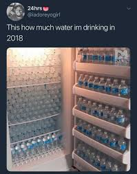 Water Meme - dopl3r com memes 24 hrs iadoreyogirl this how much water im