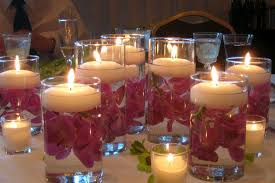 interior remarkable wedding centerpieces without flowers offer