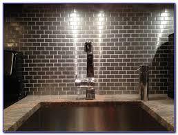 Stainless Steel Tile Backsplash Ideas Tiles  Home Design Ideas - Stainless tile backsplash