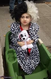Dalmatian Puppy Halloween Costume Cruella Deville Captured Puppy Halloween Costume Photo 2 5