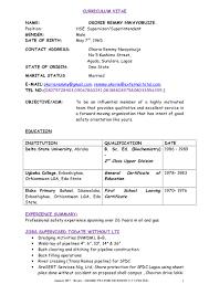okorie c v updated january 2017