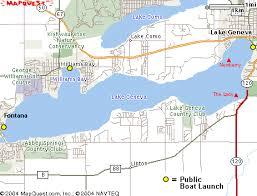 map of lake geneva wi milwaukee scuba diving scuba dive lake michigan lake geneva for