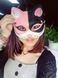 aliexpress com buy new quality handmade diy mask halloween pink