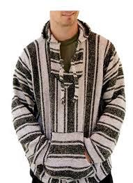 baja sweater el paso assorted baja pullover hooded jacket