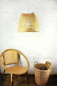 Oversized Pendant Light Basket Pendant Light How To Turn A Basket Into A Pendant Light