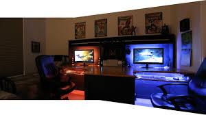 Paragon Gaming Desk by Cool Computer Setups And Gaming Setups