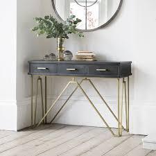 Glass Hallway Table Best 25 Narrow Hallway Table Ideas On Pinterest Entryway For Small