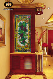 Glass Wall Panels Door Gsm Picture More Detailed Picture About Custom Colored Art