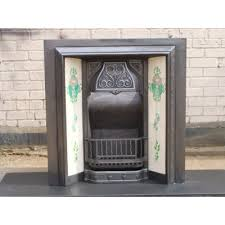 Victorian Cast Iron Bedroom Fireplace Antique Original Victorian Cast Iron Fireplace With Tiles