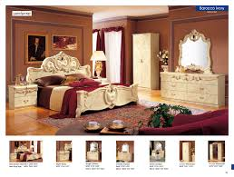 Bedroom Set With Matching Armoire Barocco Ivory Camelgroup Italy Classic Bedrooms Bedroom Furniture