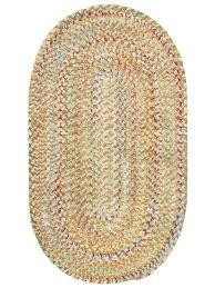 cottage home furniture amber ocracoke braided chenille rug