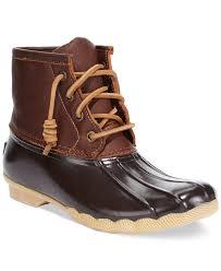 ugg womens duck shoes sperry top sider s salt water duck booties shoes macy s