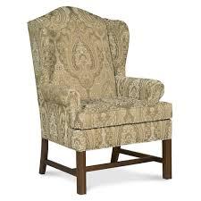 fairfield chair chippendale wingback chair u0026 reviews wayfair