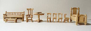 Wood Dollhouse Furniture Plans Free by How To Make Doll Furniture With Popsicle Sticks Plans Diy Free
