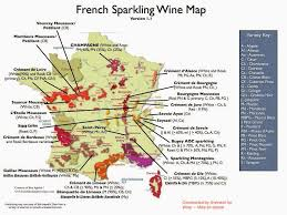 Map Of France Wine Regions by Wine Mise En Abyme French Sparkling Wine Map