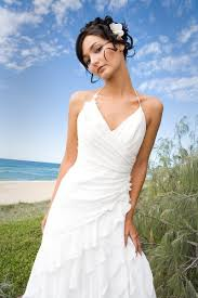 beach wedding dresses with straps u2013 part of the elegant bridal