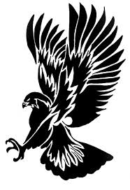 eagle tattoo clipart super black tribal flying eagle tattoo design tattooimages biz