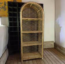 vintage shelf in rattan for sale at pamono