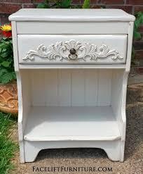 nightstands painted glazed u0026 distressed facelift furniture