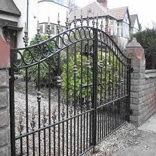 ornamental steel gate at rs 120 kilogram metal gate new sen