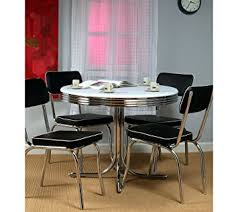 amazon com target marketing systems 5 piece retro dining set