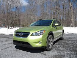 subaru xv 2014 subaru xv crosstrek hybrid gas mileage review